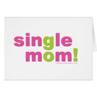 Single Mom Love by MDillon Designs Card