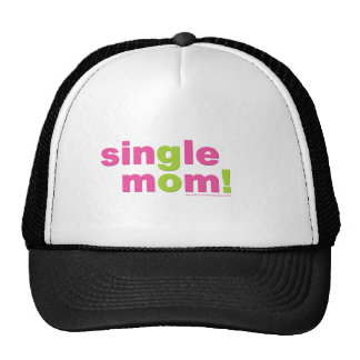 Single Mom Love by MDillon Designs Trucker Hat