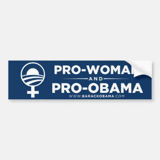 Single Moms for Obama Bumper Sticker
