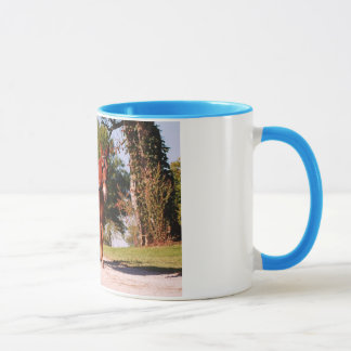 single mule driving mug