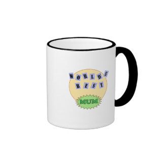 Single Mum Ringer Coffee Mug
