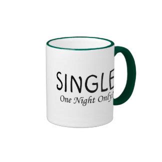 Single One Night Only Mug
