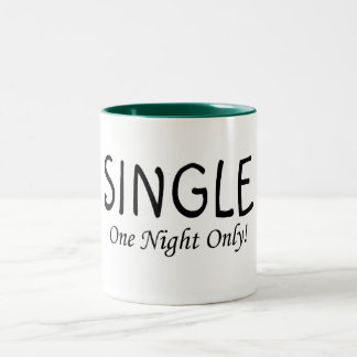 Single One Night Only Coffee Mug