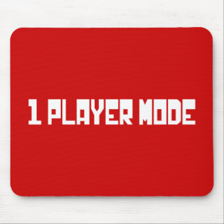 Single / One Player Mode Mouse Pad