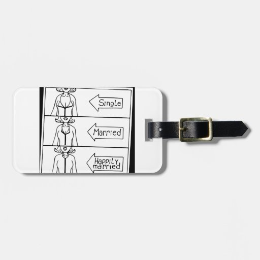 Single or Married Woman Tags For Luggage