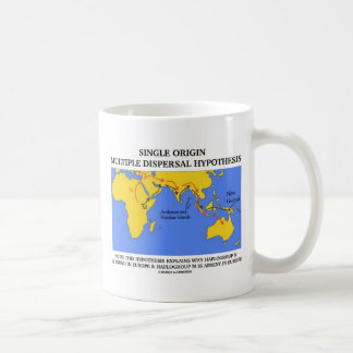 Single Origin Multiple Dispersal (Evolution) Coffee Mug