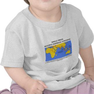 Single Origin Multiple Dispersal Evolution T Shirts