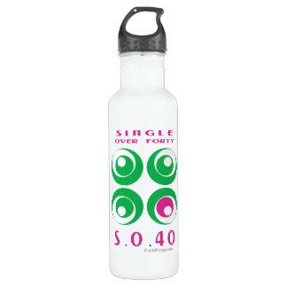 Single Over 40 (SO40) Custom 24oz Water Bottle