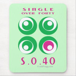 Single Over 40 (So40) Mousepad