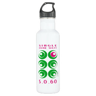 Single Over 60 (SO60) Custom 24oz Water Bottle