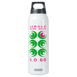 Single Over 60 (SO60) Custom 16 Oz Insulated SIGG Thermos Water Bottle