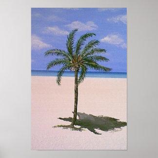 Single Palm Tree Posters