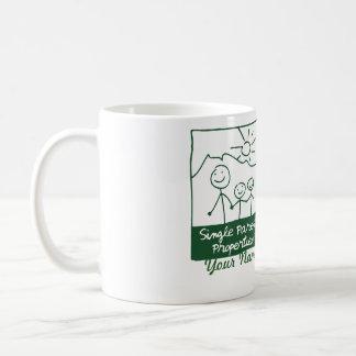 Single Parent Properties Classic White Coffee Mug