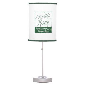 Single Parent Properties Desk Lamp