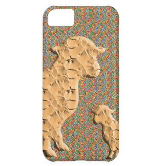 Single Parent SHEEP N baby sheep Case For iPhone 5C