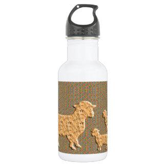 Single Parent SHEEP N baby sheep Water Bottle