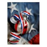 Single Patriotic Ornament Postcard