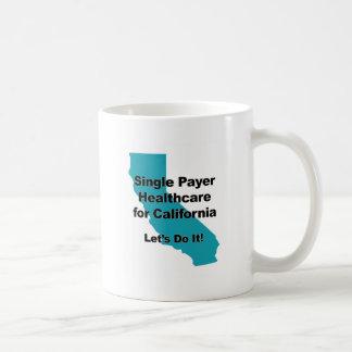 Single Payer Healthcare for California Coffee Mug