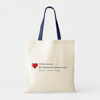 Single person but in love with HIM… Budget Tote Bag