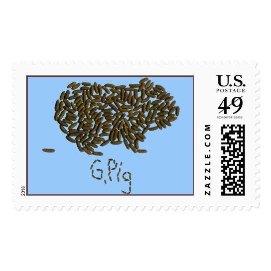 Single Pig w/Poopie Stamps
