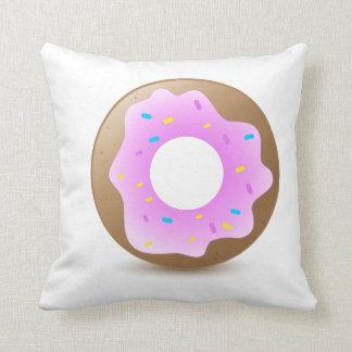 Single Pink Donut Pillows