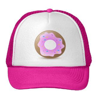 Single Pink Donut Trucker Hat