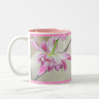 Single Pink Flower Mug