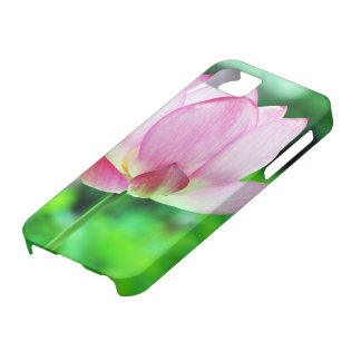 Single Pink Lotus Blossom iPhone SE/5/5s Case