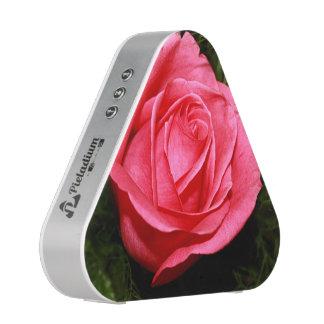 Single Pink Rose Bluetooth Speaker