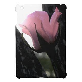 Single Pink Rose Soft Case For The iPad Mini