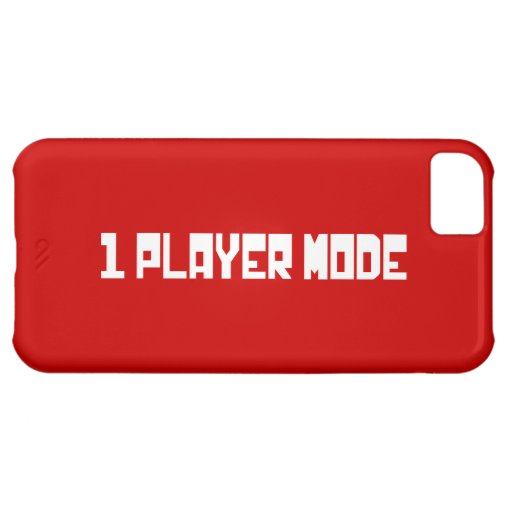 Single Player Mode Case For iPhone 5C