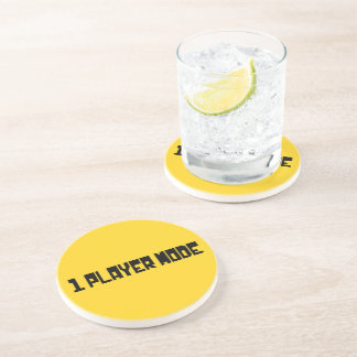 Single Player Mode Drink Coasters