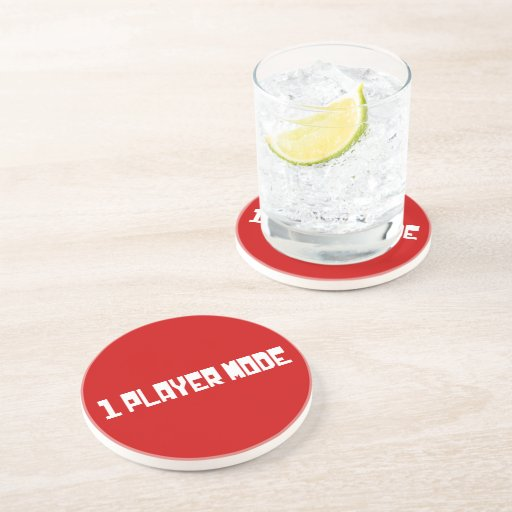 Single Player Mode Beverage Coaster