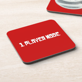 Single Player Mode Beverage Coasters