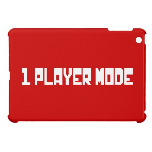 Single Player Mode Case For The iPad Mini