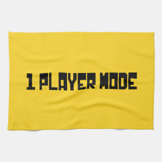 Single Player Mode Towels