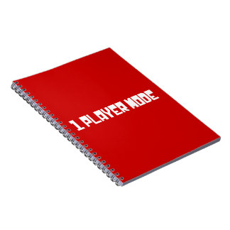 Single Player Mode Notebooks