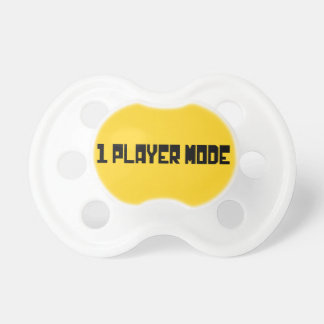 Single Player Mode Pacifiers