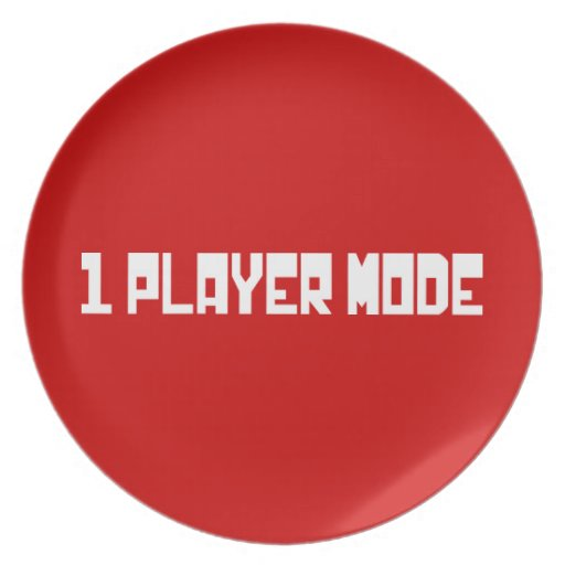 Single Player Mode Plate