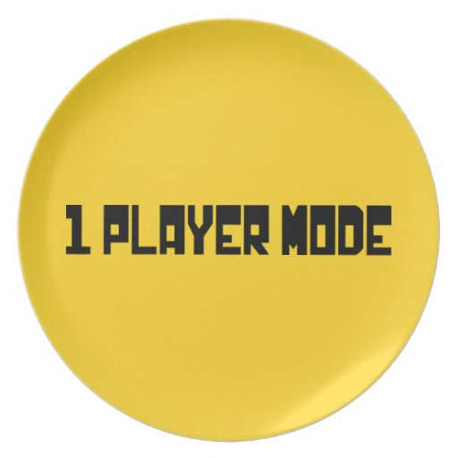 Single Player Mode Plates
