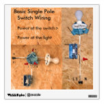 electrical, switch wiring, single pole switch