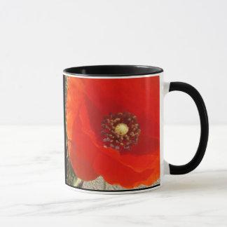 Single Poppy Mug