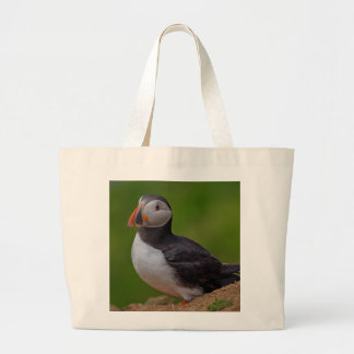 Single Puffin Tote Bags