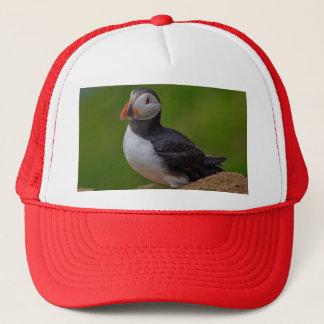 Single Puffin Trucker Hat