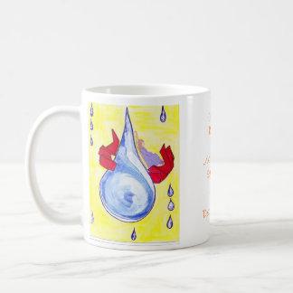 Single Raindrop Peaceful Coffee Mug