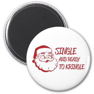 Single & Ready To Kringle Magnet