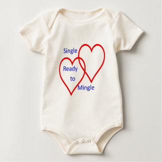 Single ready to mingle baby bodysuit