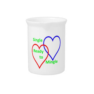 Single ready to mingle color drink pitchers
