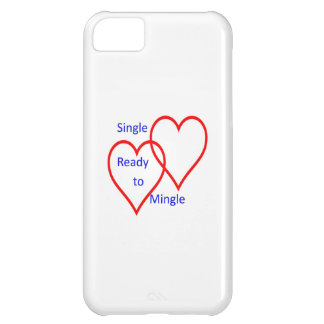 Single ready to mingle iPhone 5C cover