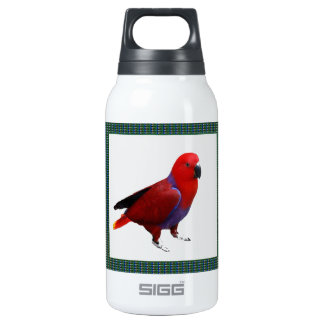 Single RED PARROT : Tell a tale to KIDS 10 Oz Insulated SIGG Thermos Water Bottle